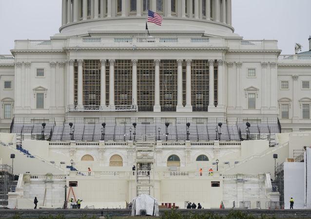 美国部分国会议员购买防弹背心预防致命威胁