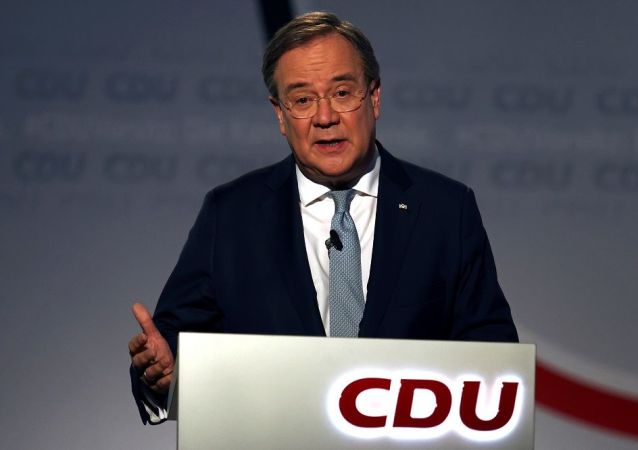 德国基民盟新的领导人拉舍特