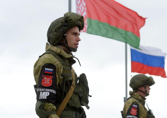 俄白两国军演高潮阶段在俄下诺夫哥罗德州结束