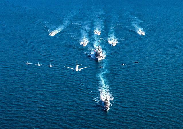 沙特和苏丹海军开始在红海的演习