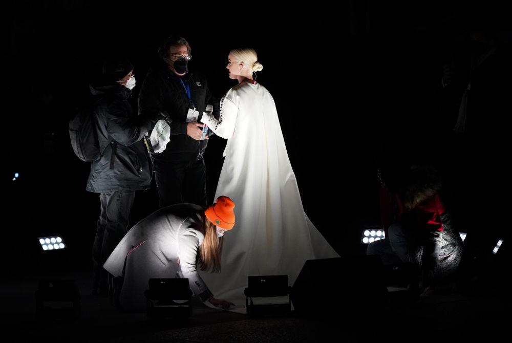 美国歌手凯特·佩里应邀参加总统就职庆典晚会