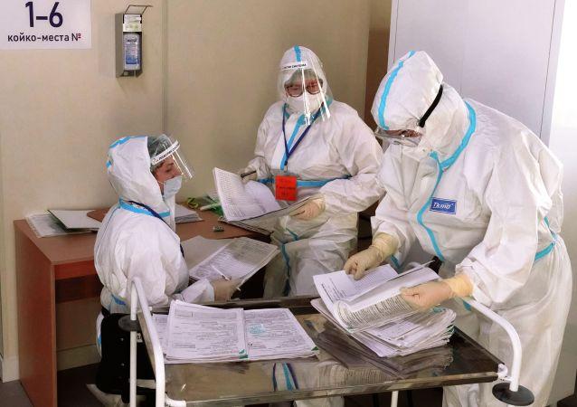 俄防疫指挥部:俄单日新增新冠病毒感染病例7848例 累计超478.7万例