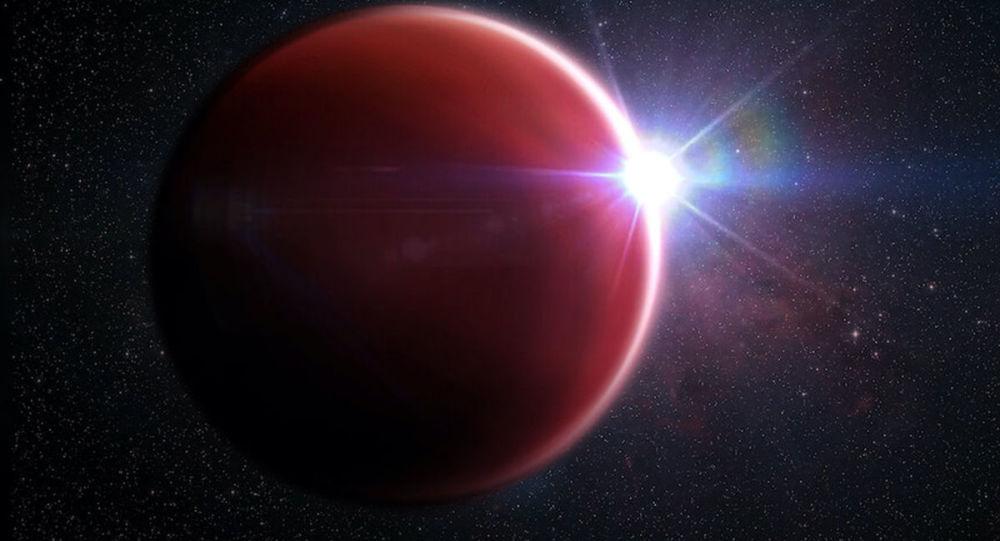 科学家们发现罕见的巨型行星:大气中没有云层和阴霾