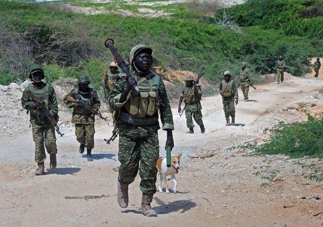 乌干达军人