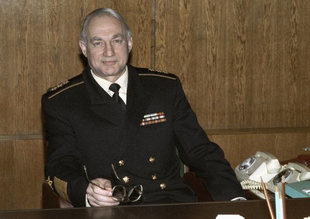 俄罗斯海军前总司令格罗莫夫 (资料图片)