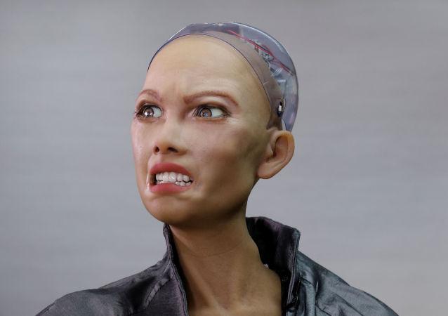 """人型机器人""""索菲娅""""制造商计划年底前量产机器人"""