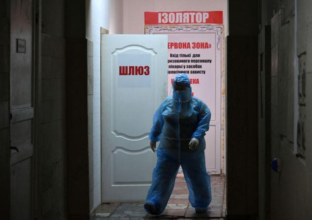 乌克兰卫生部:该国单日新增新冠病毒感染病例11627例