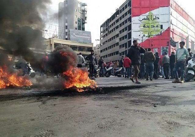黎巴嫩骚乱