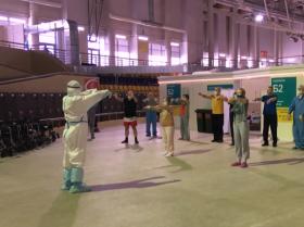中国太极拳助力新冠患者康复