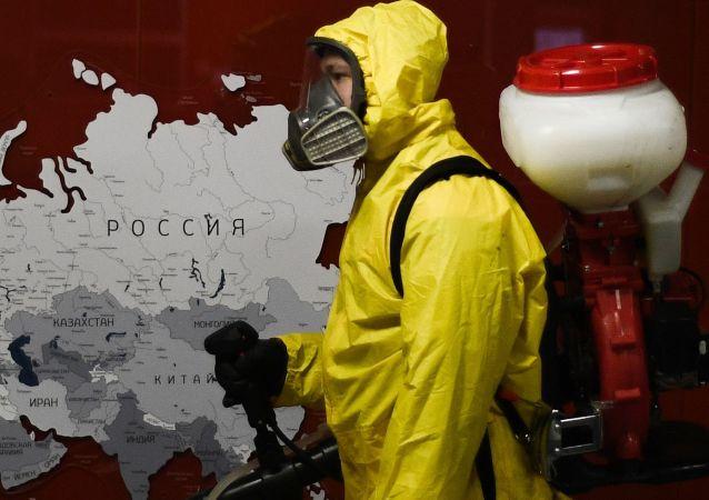 过去24小时,俄罗斯新增新冠病毒感染病例11823例