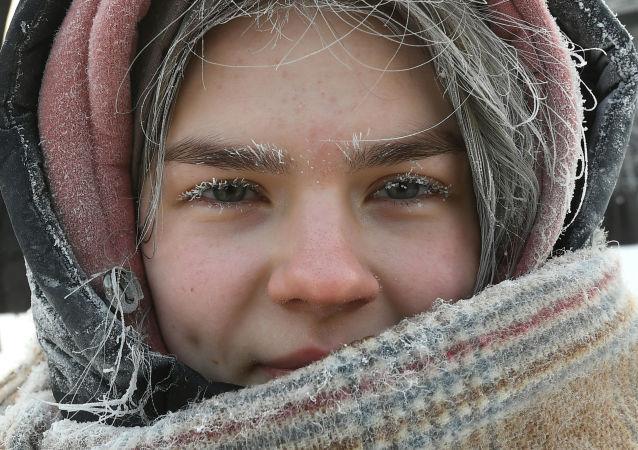 克拉斯诺亚尔斯克的严寒