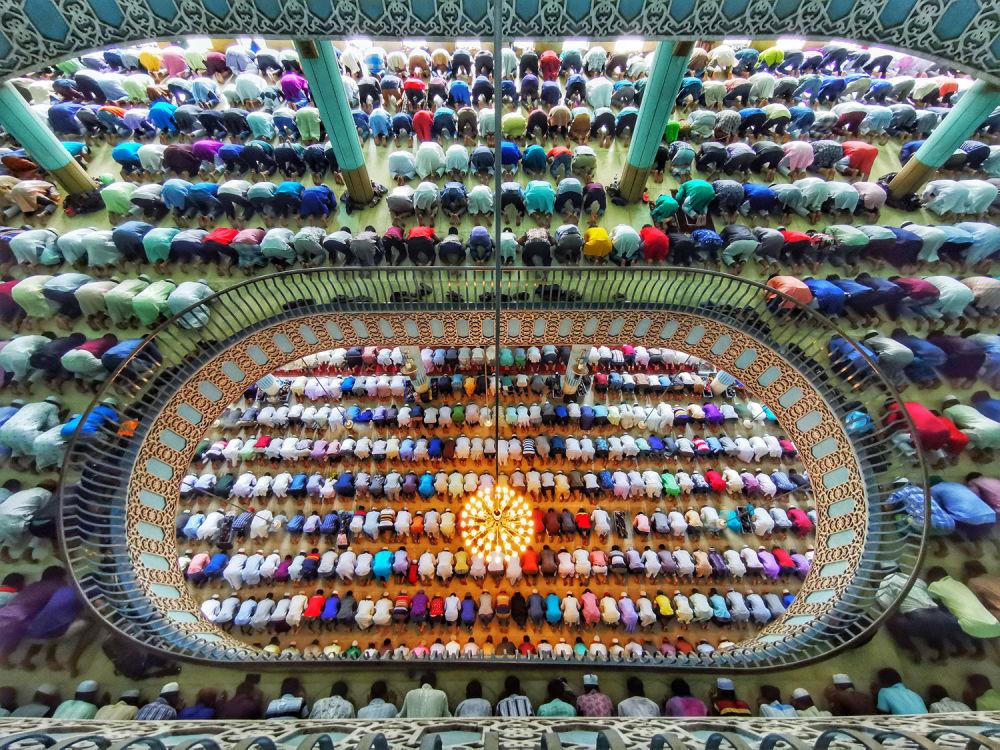 孟加拉国摄影师阿齐姆·汗·罗尼的作品。
