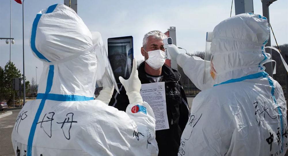 俄边境与中国接壤地区单日新增新冠肺炎确诊病例数下降到422例