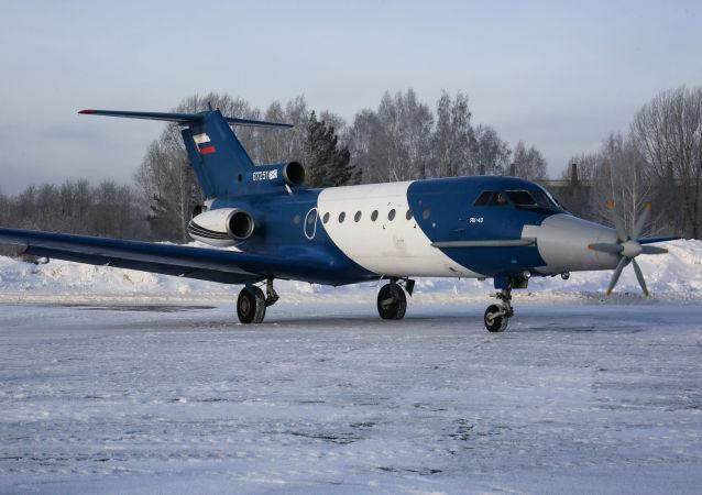 俄前景研究基金会:已开始俄罗斯首个飞机组成内混合发动机的试验
