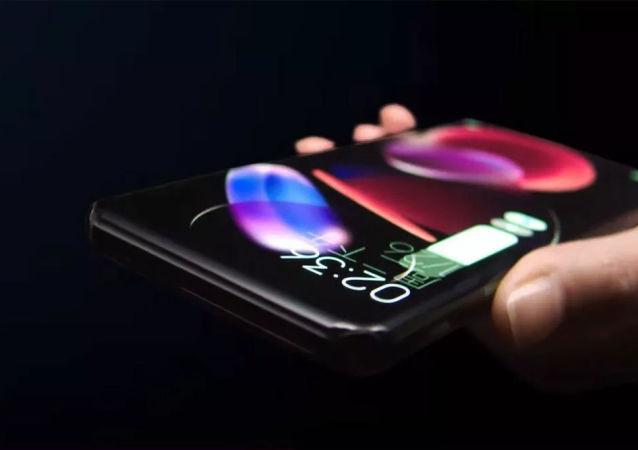 小米发布四曲瀑布屏概念手机