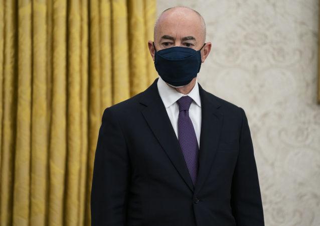 美国国土安全部部长马约卡斯