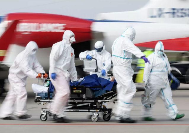 德国单日新增新冠病毒感染病例近3900例