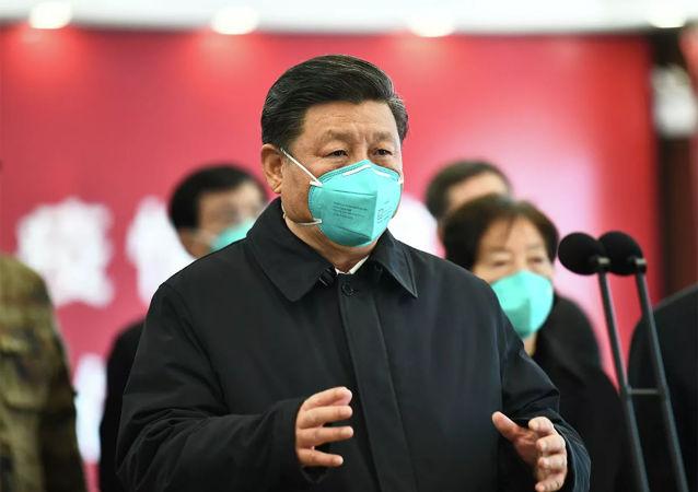 习近平表示愿帮助印度抗疫