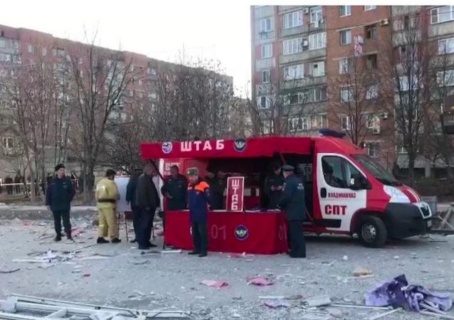 俄弗拉季高加索超市爆炸现场发现一人 但他没有受伤