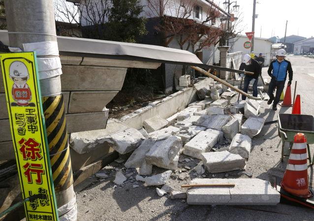日本气象厅:日东北部再次发生5.2级地震