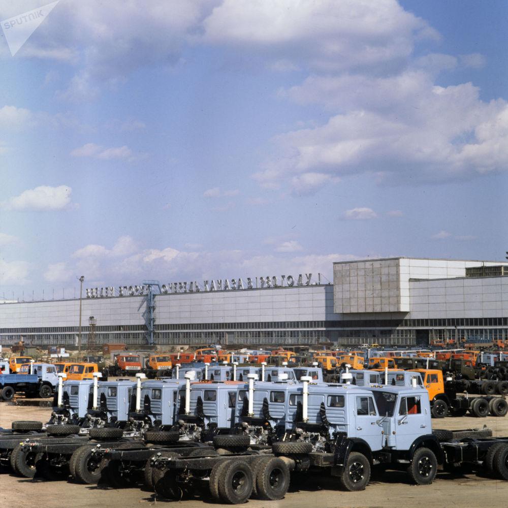 1982年,卡玛汽车制造厂产品。