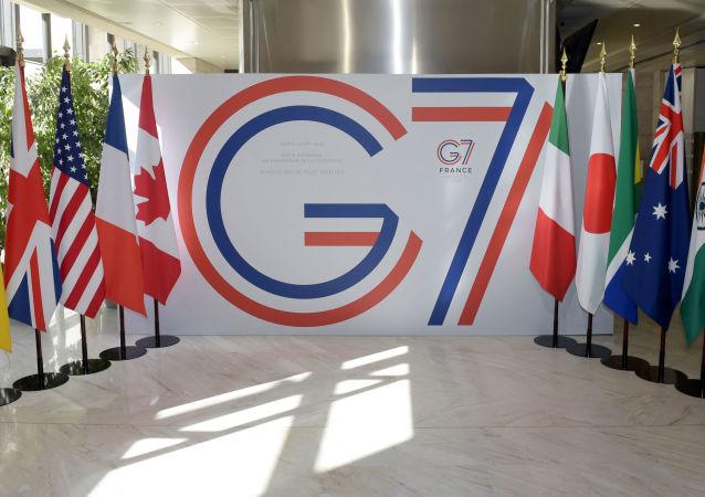 """G7希望与俄罗斯保持稳定关系 但是将应对其""""敌对行为"""""""