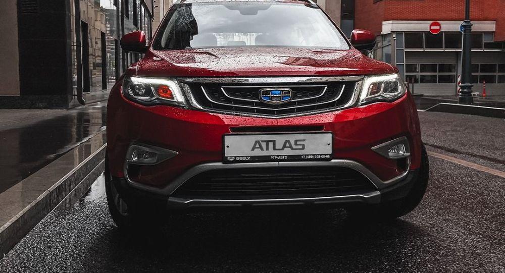 2021年吉利将在俄罗斯推出Atlas Pro新车