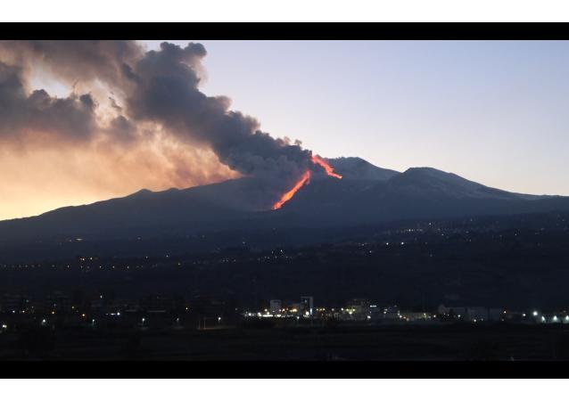 埃特纳火山大规模喷发
