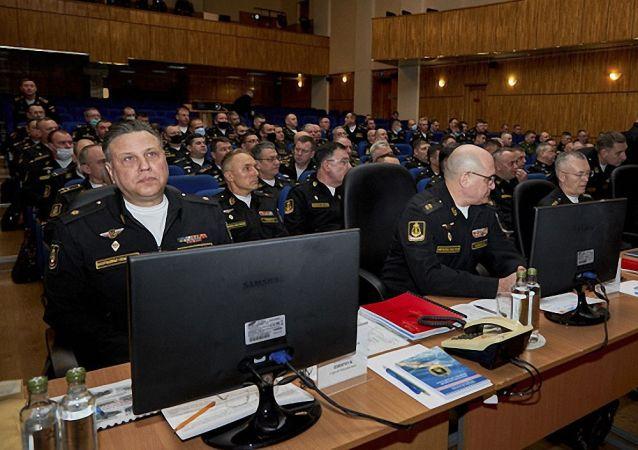 俄罗斯海军军官战役集训第二阶段训练在堪察加启动