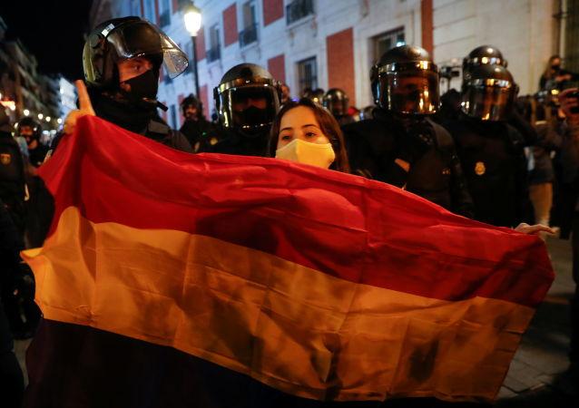 西班牙抗议活动
