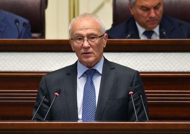 俄白联盟国家国务秘书格里戈里∙拉波塔