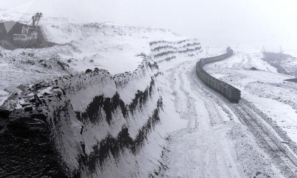 克拉斯诺达尔边疆区博罗金煤矿。