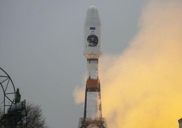 """俄航天集团总裁解释""""联盟-2""""号火箭上图标破碎原因"""