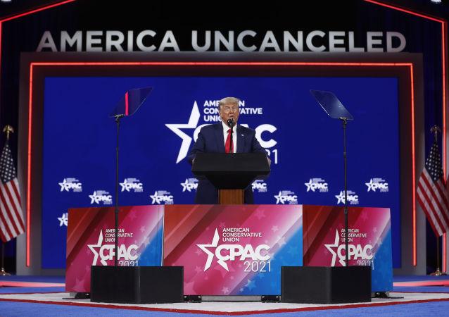 特朗普称可能会做出再次竞选美国总统的决定