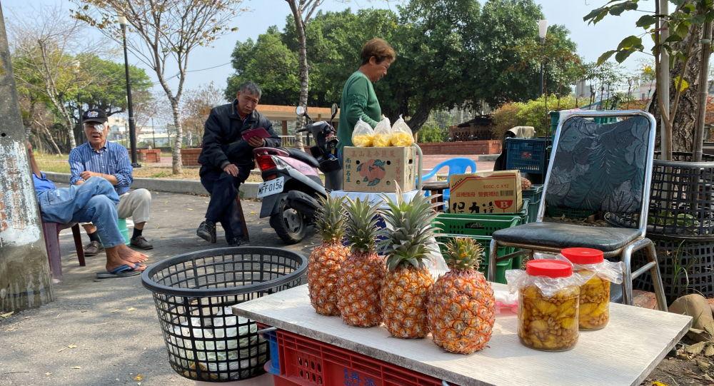 中国大陆网友科普广东一县年产菠萝70万吨 台名嘴惊讶:你们自己就有凤梨啊!