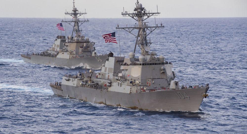 王毅:南海面临的不稳定因素和安全风险主要来自域外