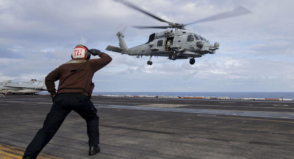 美国海军在南中国海