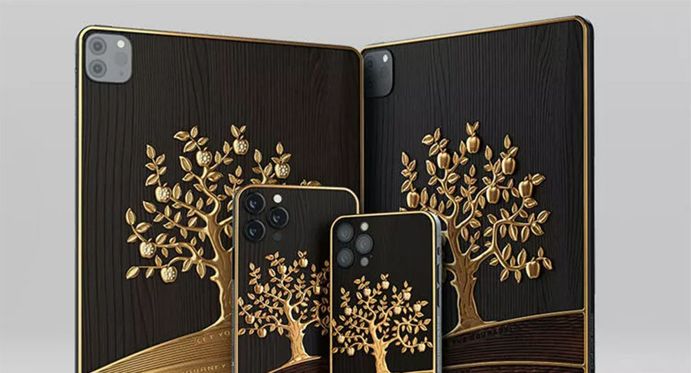 iPad Pro黄金平板电脑
