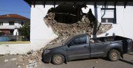 希腊地震的后果。