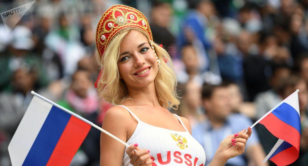 俄罗斯女性一向以美丽著称