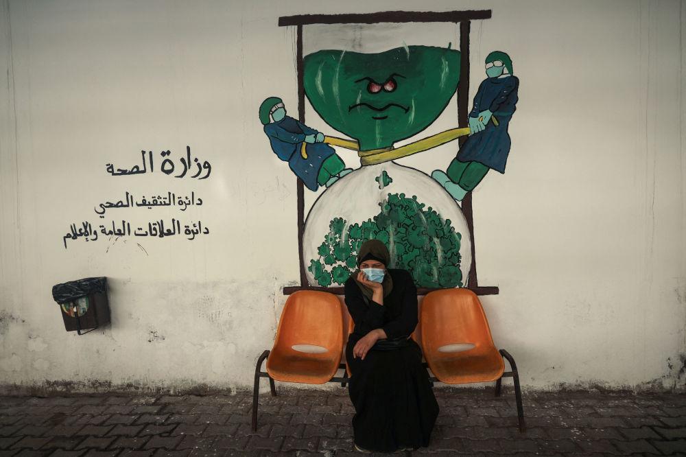 加沙市的涂鸦。