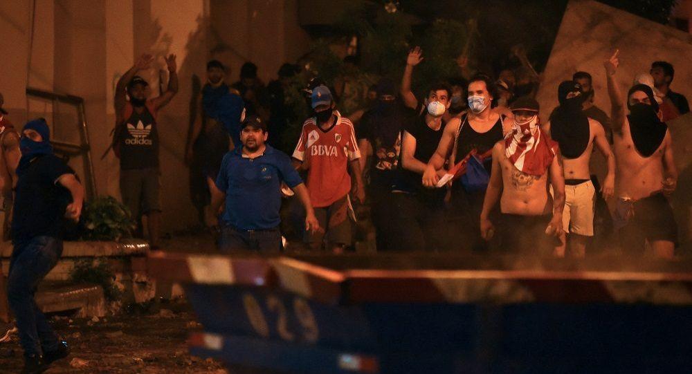 巴拉圭首都发生冲突导致1人死亡至少18人受伤