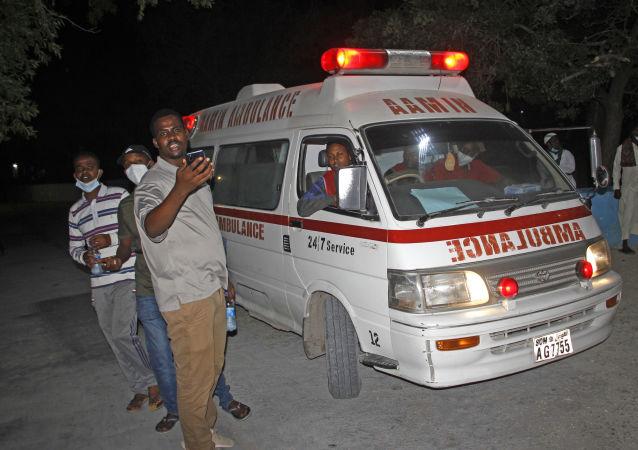 索马里首都一警察局附近发生爆炸造成六人死亡