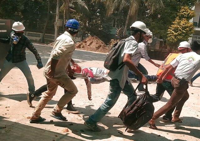 人权组织:缅甸冲突死亡人数已超550人