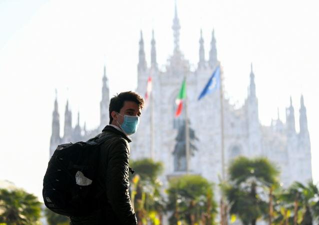 意大利首次举行新冠死难者国家纪念日