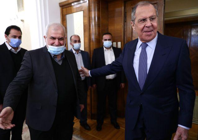 真主党代表团团长称已与拉夫罗夫讨论黎巴嫩及地区局势