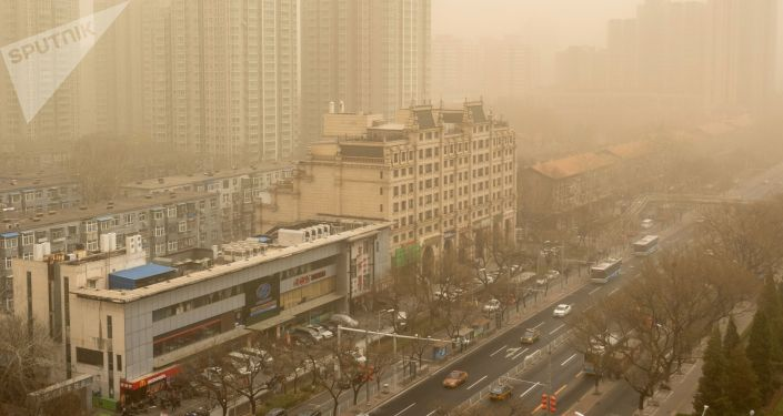 环境问题没有国界 此次沙尘天气中国只是途经站