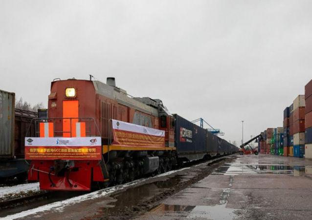 欧洲最大天然气化工综合体所需首批建造材料已从中国抵达俄罗斯