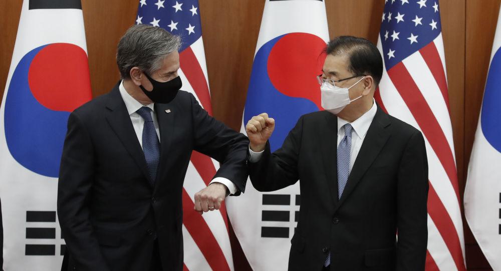 韩国不支持美国及其盟友的反华论调
