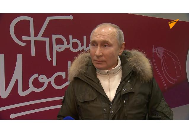 """普京建议与拜登举行""""直播形式""""的公开对话"""